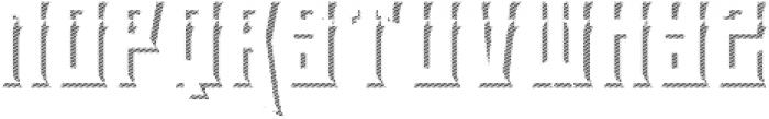 el tigres shadow one otf (400) Font LOWERCASE
