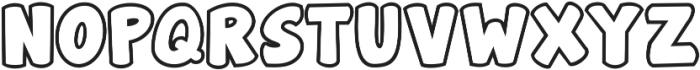 elizajane ttf (400) Font UPPERCASE