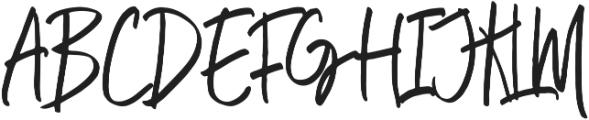 ellena Regular Regular ttf (400) Font UPPERCASE