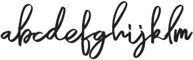 ellena Regular Regular ttf (400) Font LOWERCASE
