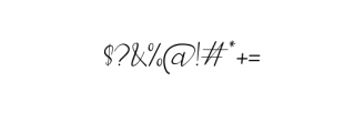 Elegant Fashion Serif.ttf Font OTHER CHARS