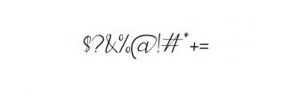 Elegant Fashion script.woff Font OTHER CHARS