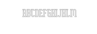 EllardJagger-light.otf Font UPPERCASE