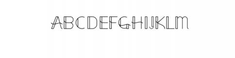 elegantor Font UPPERCASE
