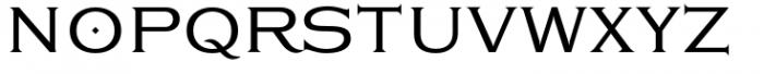 Eleganza Medium Plus Font UPPERCASE