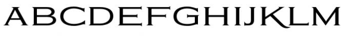 Eleganza Medium Plus Font LOWERCASE