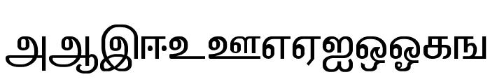 ELANGO-TML-Panchali-Normal Font UPPERCASE