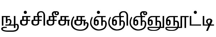ELANGO-TML-Panchali-Normal Font LOWERCASE