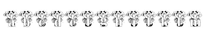 ELEFUN_KG Font LOWERCASE