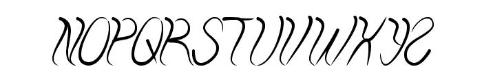 ELEMENTAL Font UPPERCASE