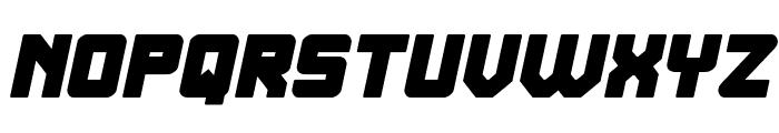 ELITE MIND Bold Italic Font UPPERCASE