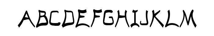 El Abogado Loco Font UPPERCASE