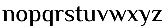 El Messiri Medium Font LOWERCASE