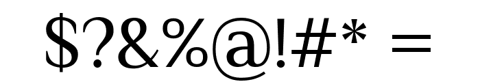 El Messiri Regular Font OTHER CHARS