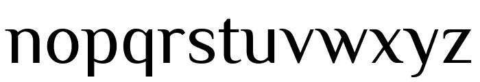El Messiri Regular Font LOWERCASE