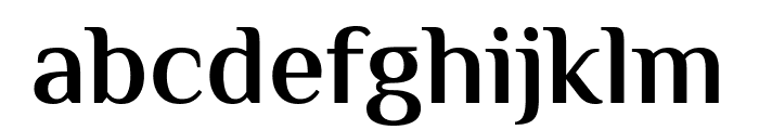 El Messiri SemiBold Font LOWERCASE