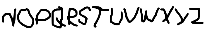 ElAngeliuXx Font UPPERCASE