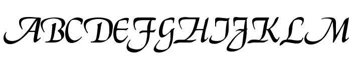 ElGar Font UPPERCASE