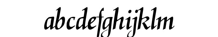 ElGar Font LOWERCASE