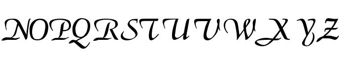 ElGarrett Regular Font UPPERCASE