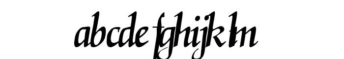 ElGarrett Regular Font LOWERCASE