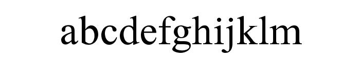 Elaaha Font LOWERCASE