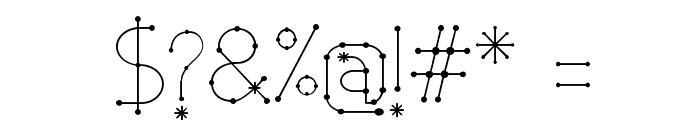 Elara Bold Font OTHER CHARS