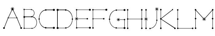 Elara Bold Font UPPERCASE