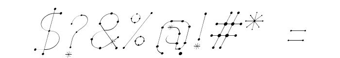 Elara Italic Font OTHER CHARS