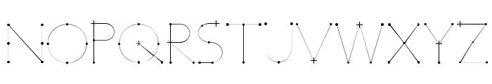 Elara Font UPPERCASE