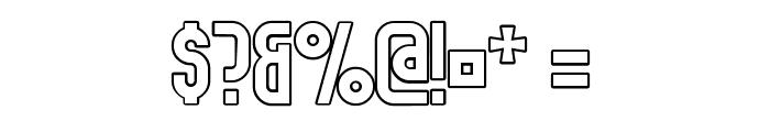 Elbaris Outline Regular Font OTHER CHARS