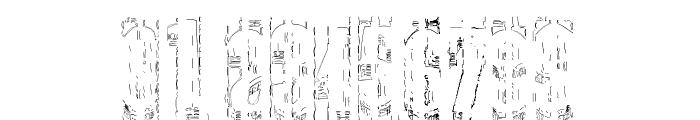Elbow-SaulWeintraub Font OTHER CHARS