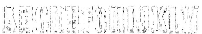 Elbow-SaulWeintraub Font UPPERCASE