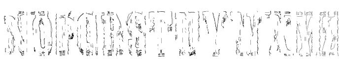 Elbow-SaulWeintraub Font LOWERCASE