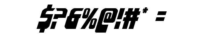 Eldebaran Italic Font OTHER CHARS
