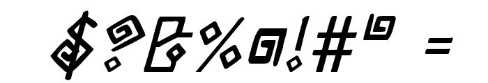 Elder Magic Italic Font OTHER CHARS