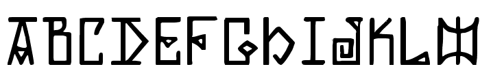 Elder Magic Font LOWERCASE
