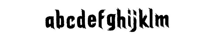 ElderGodsBB Font LOWERCASE