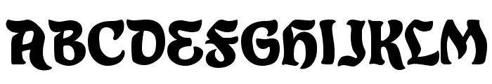 Eldorado Font UPPERCASE