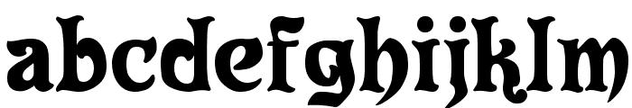 Eldorado Font LOWERCASE