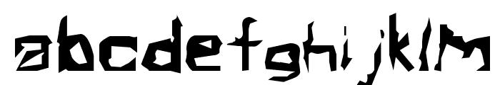Electamine  Oddtype Font LOWERCASE