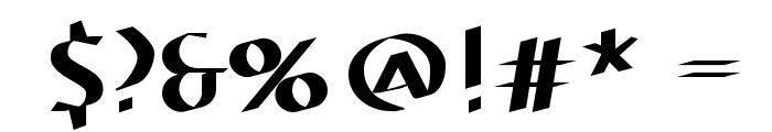 ElectrUnciale Font OTHER CHARS