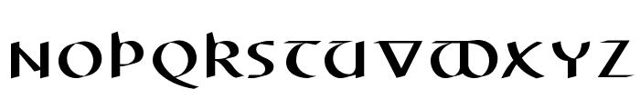 ElectrUnciale Font UPPERCASE