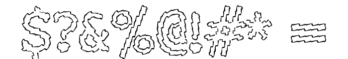 Electric Hermes AOE Font OTHER CHARS
