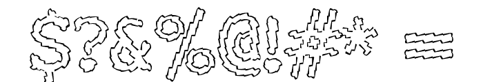Electric Hermes Font OTHER CHARS