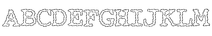Electric Hermes Font UPPERCASE