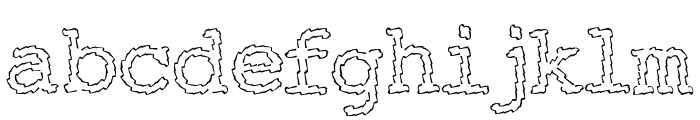 Electric Hermes Font LOWERCASE