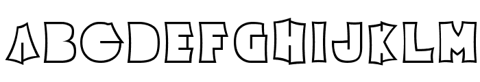 Electric Pickle Font UPPERCASE