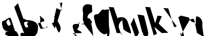 Electrical Snow Condensed Reverse Oblique Font LOWERCASE