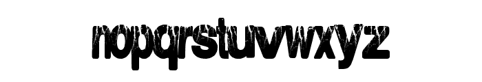 ElectricalStorm Font LOWERCASE